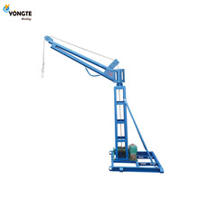 Outdoor mini lift 0.5 t <span class=keywords><strong>motor</strong></span> lifting crane