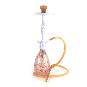 JL-346AH High Quality Thick Glass Hookah Shisha Trade Batia Glass Shisha Hookah Tobacco