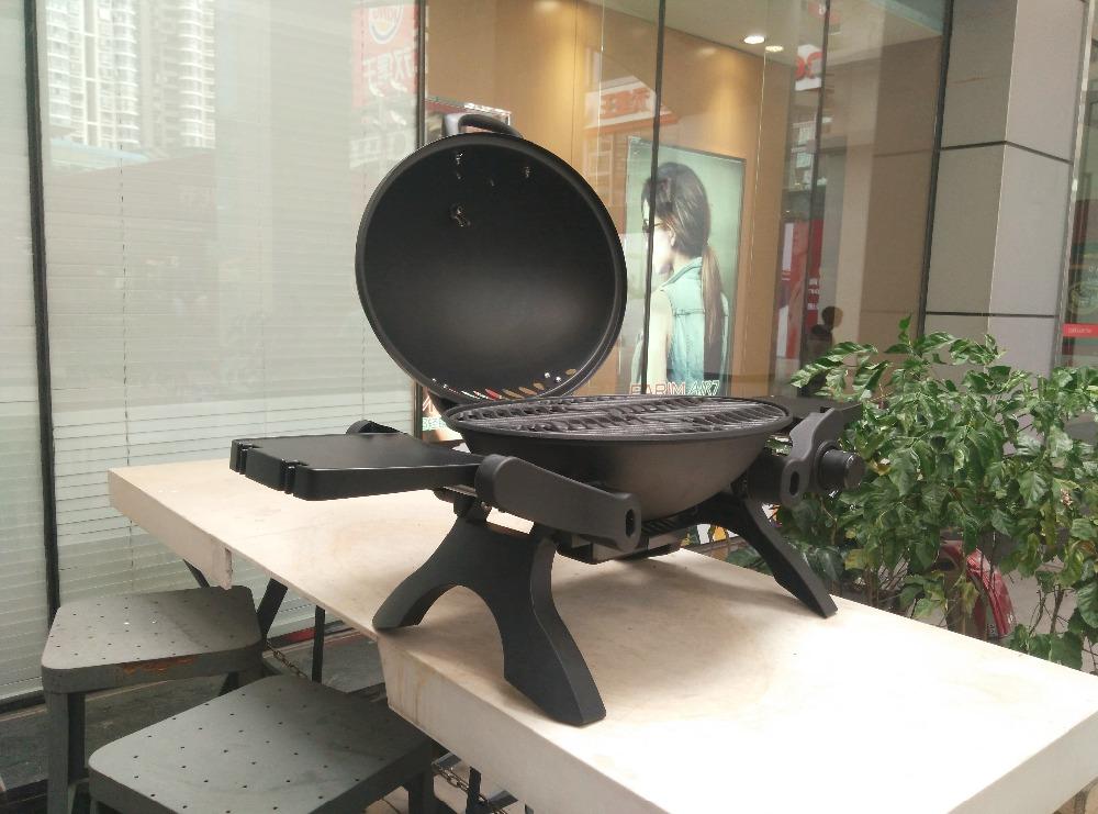 nuevo estilo de cocina de gas con capucha para la fiesta de jardn utilizado