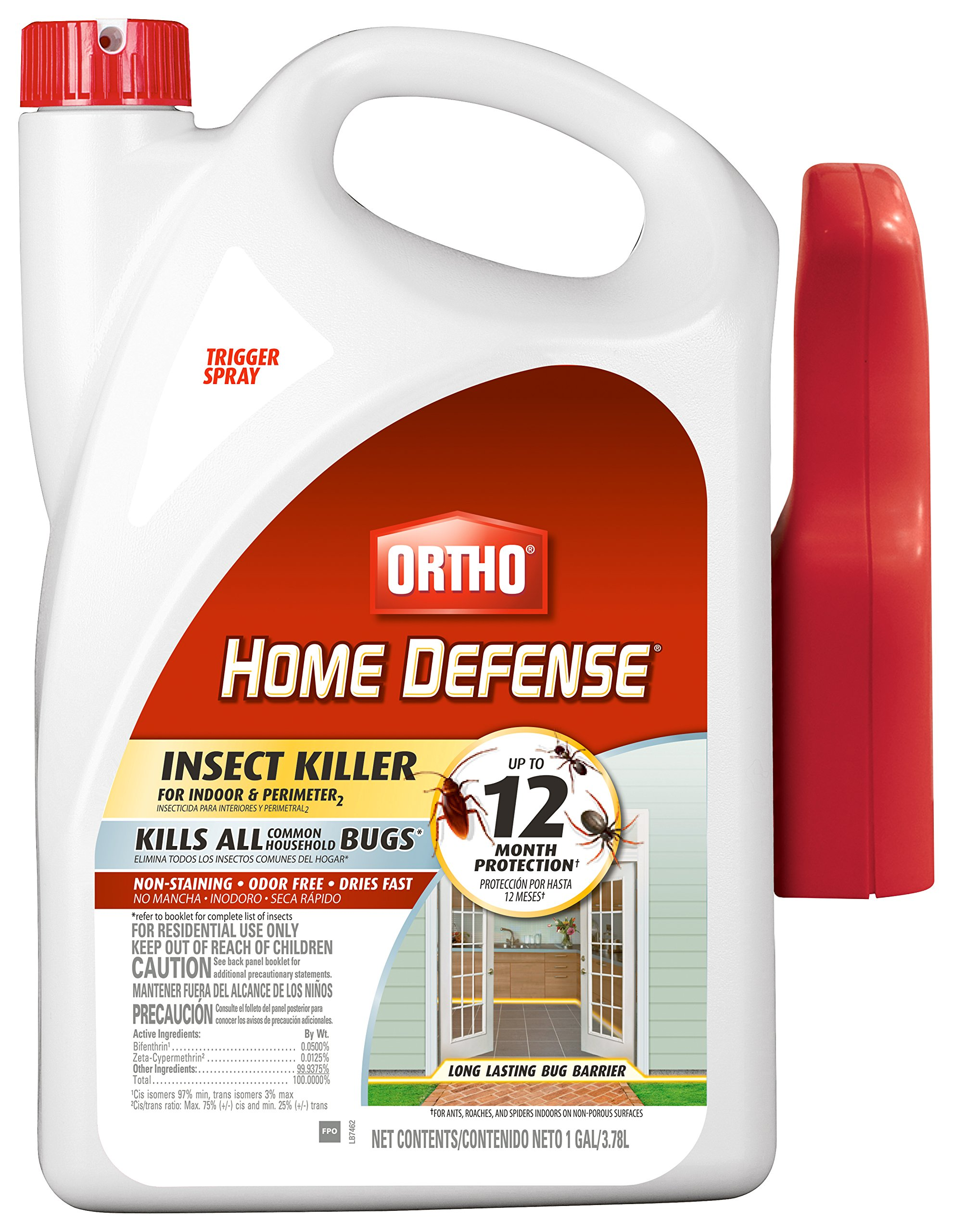 Ortho 0220810 Home Defense Max Insect Killer for Indoor and Perimeter RTU Trigger