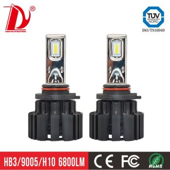 auto part h4 led headlight 100w led headlight h7 car accessories 13600lm led h7 bulb
