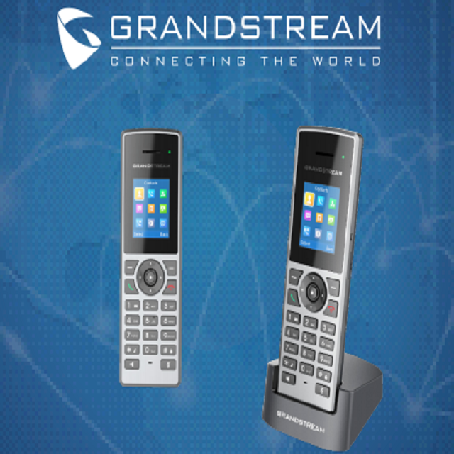 Grandstream DP722 HD DECT IP Phone Handset and Charger