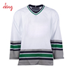Cheap sublimated printing reversible ice hockey jersey