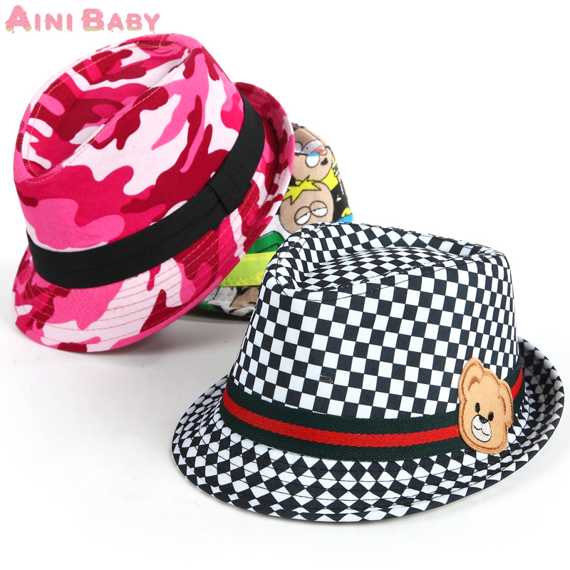 8e4fe2fdc77 Fashion Mixing Style Baby Hat Baby Cap For Child Hat Lovely Jazz Cap
