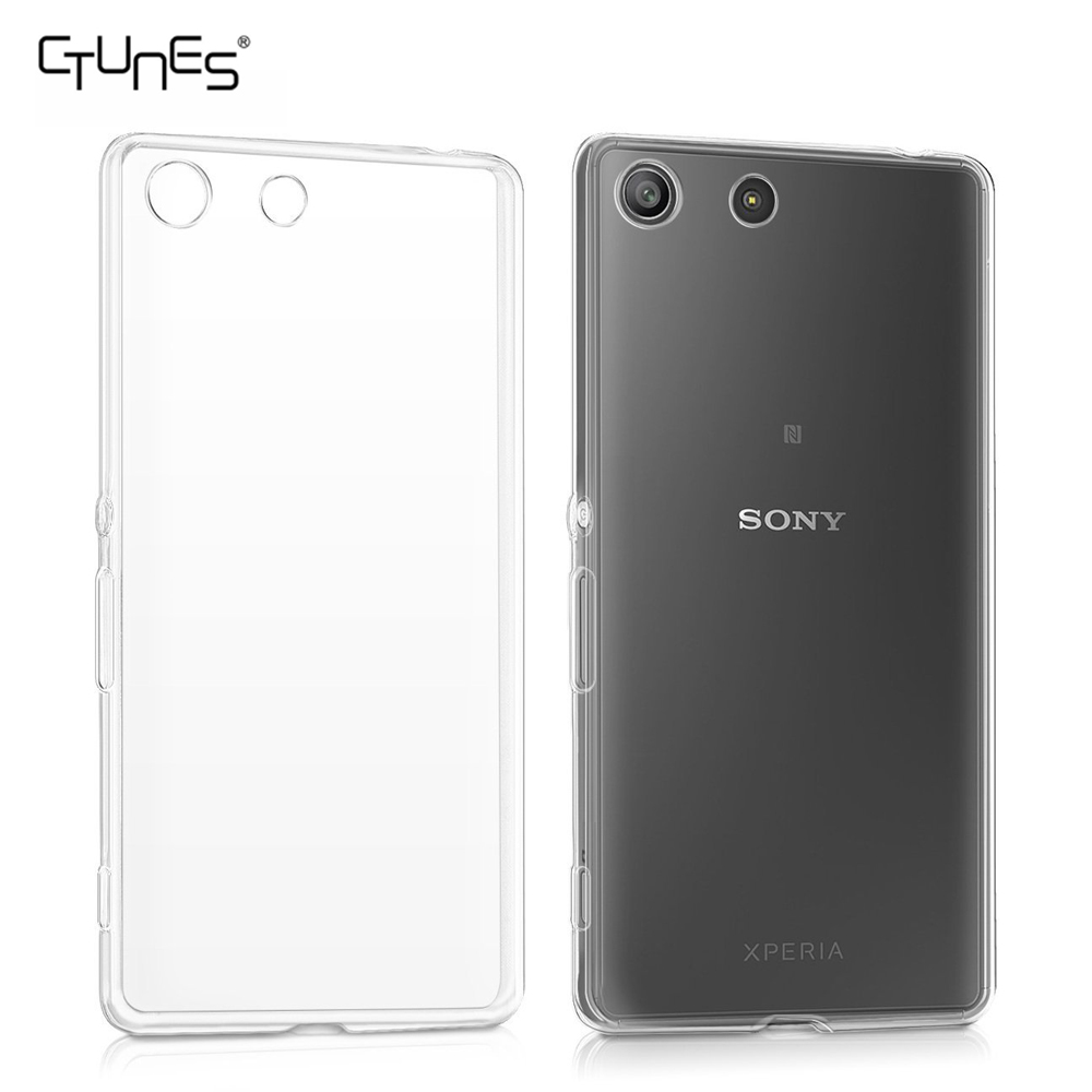 buy online 54ecf 26c3e For Sony Xperia M5 Case,Back Cover Clear Lightweight Protective Soft Tpu  Rubber Skin Case For Sony Xperia M5 E5603,E5606,E565 - Buy For Sony Xperia  M5 ...
