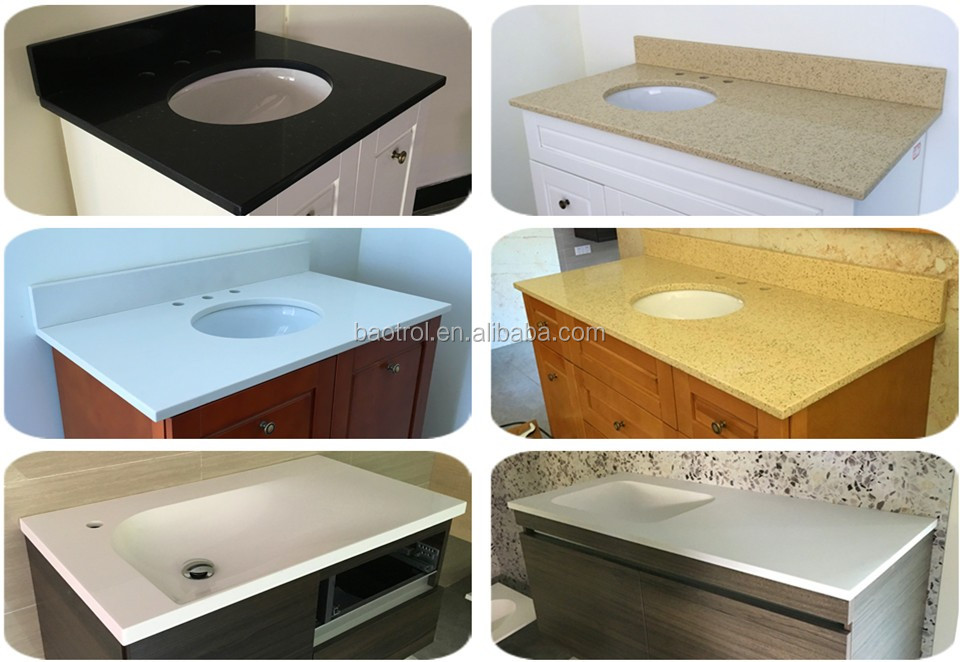 Radiation Resistant Home Kitchen Solid Surface Countertop/faux Marble  Kitchen Island Countertop