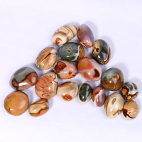 Wholesale natural crystal stone Polished ocean jasper stone for hands healing