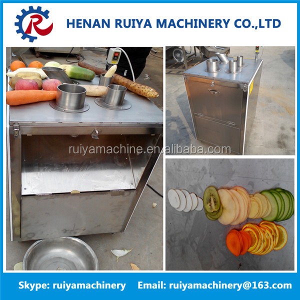 300kg/h vegetable and fruit slicer/industry electric onion rings slicer cutter