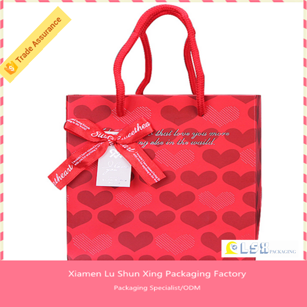 Xiamen Supplier Printing Packaging Custom Made Kraft Paper Bag