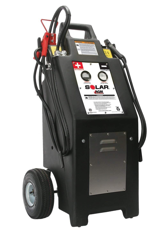 Clore Automotive HT1224AGM 12/24 Volt Commercial Charger/Starter with Agm Batteries