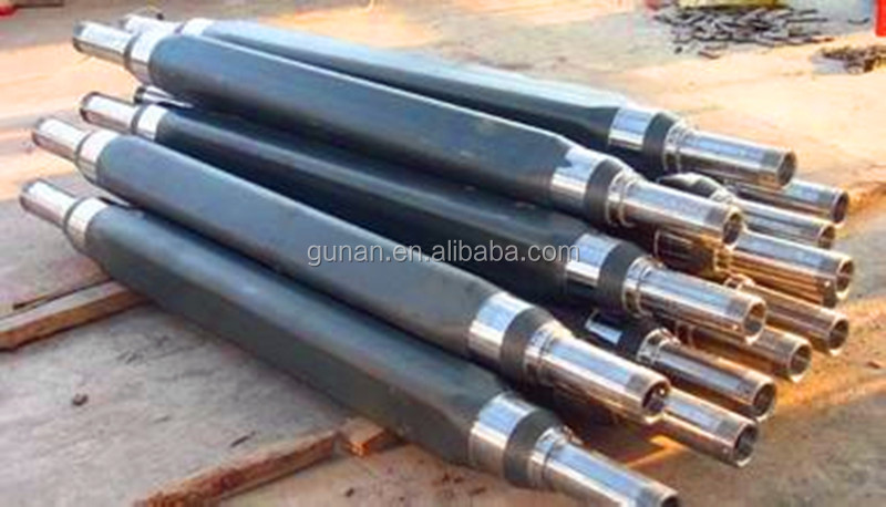 OEM high precision forged and machined shaft ,axle by CNC lathe,CNC turning for trucks