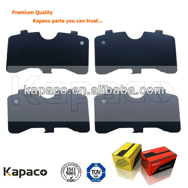 Kapaco disc brake pad accessories D340 for Audi Ford Brake pad shim