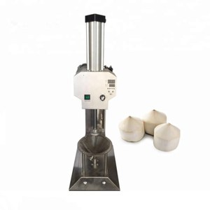 Best price green tender coconut trimming machine/buy coconut peeling machine/peeler machine for coconut