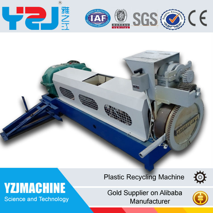Cost of waste pp pe abs plastic recycling pelletizing machine