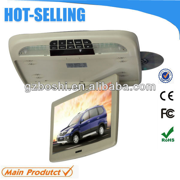 Ultra thin car dvd player