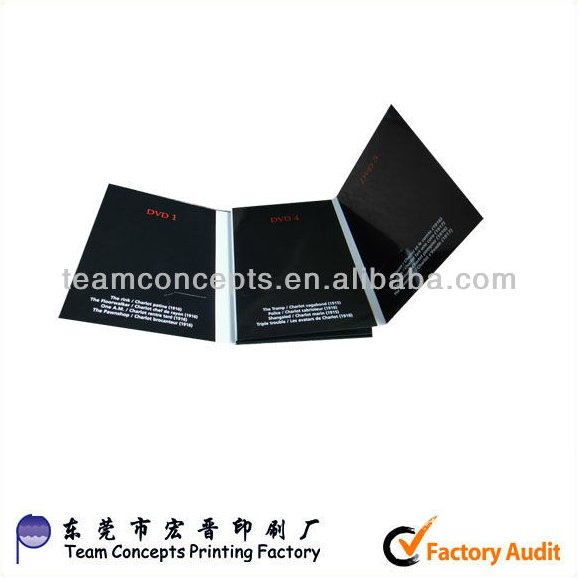 CD DVD paper case packaging box