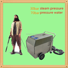 Auto car cleaning machine steam mobile portable diesel heating industrial steam cleaning machine