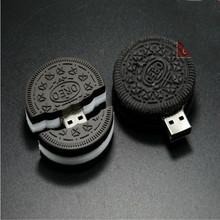 HOT! Real Cute Oreo Cookies pen drive 4GB/8GB/16GB Food usb stick usb flash drive memory stick USB 2.0 U disk free shipping