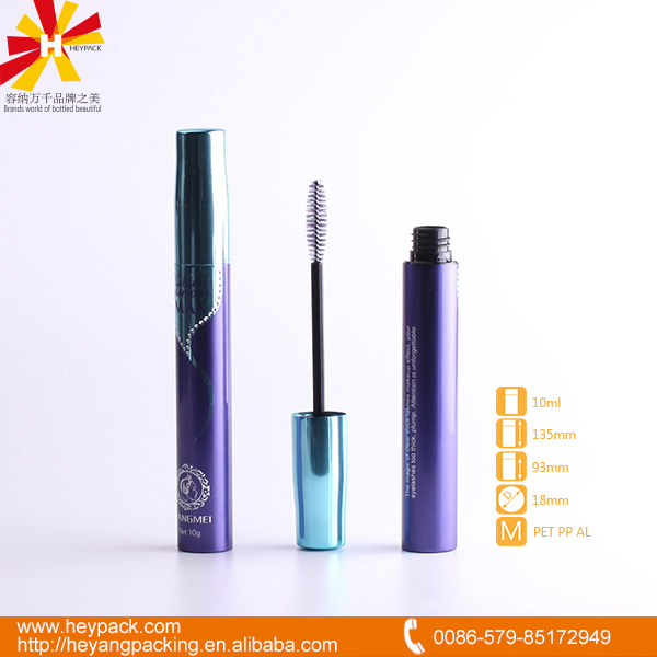 new elegant fiber lash eye mascara shiny tube