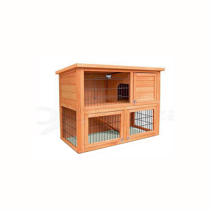 GMT06-0787 OEM Pet Rabbit Cages Handmade Wooden Rabbit Hutch Made In China