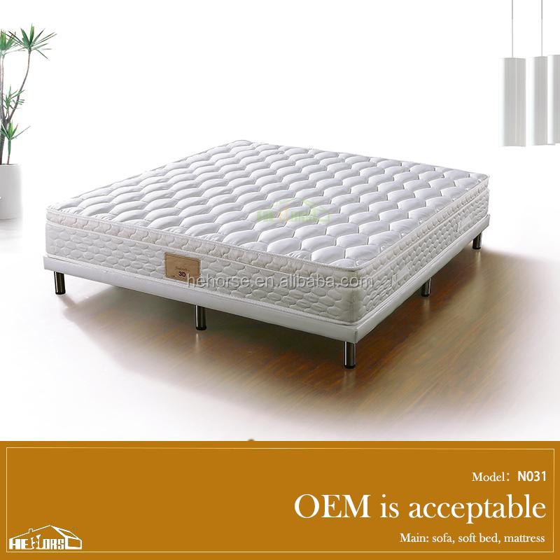 Moderne mobilier de chambre king size lit orthopédique hôtel de ...