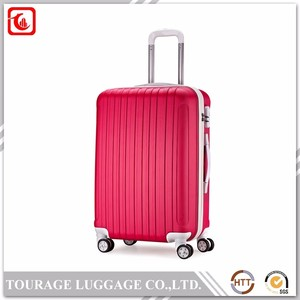 Eminent Single Handle Aluminum Trolley Luggage , Aluminum Trunk Suitcase