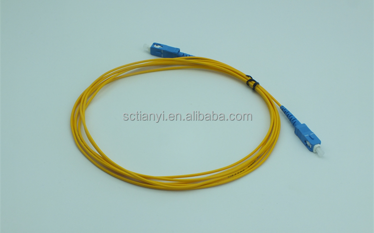 Wholesale Single and multi-mode Fiber Optic Patch Cord