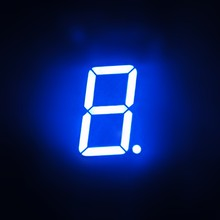 Grijs Gezicht/Wit Segment 0.36 inch 1 Digit 7 Segment Led Display