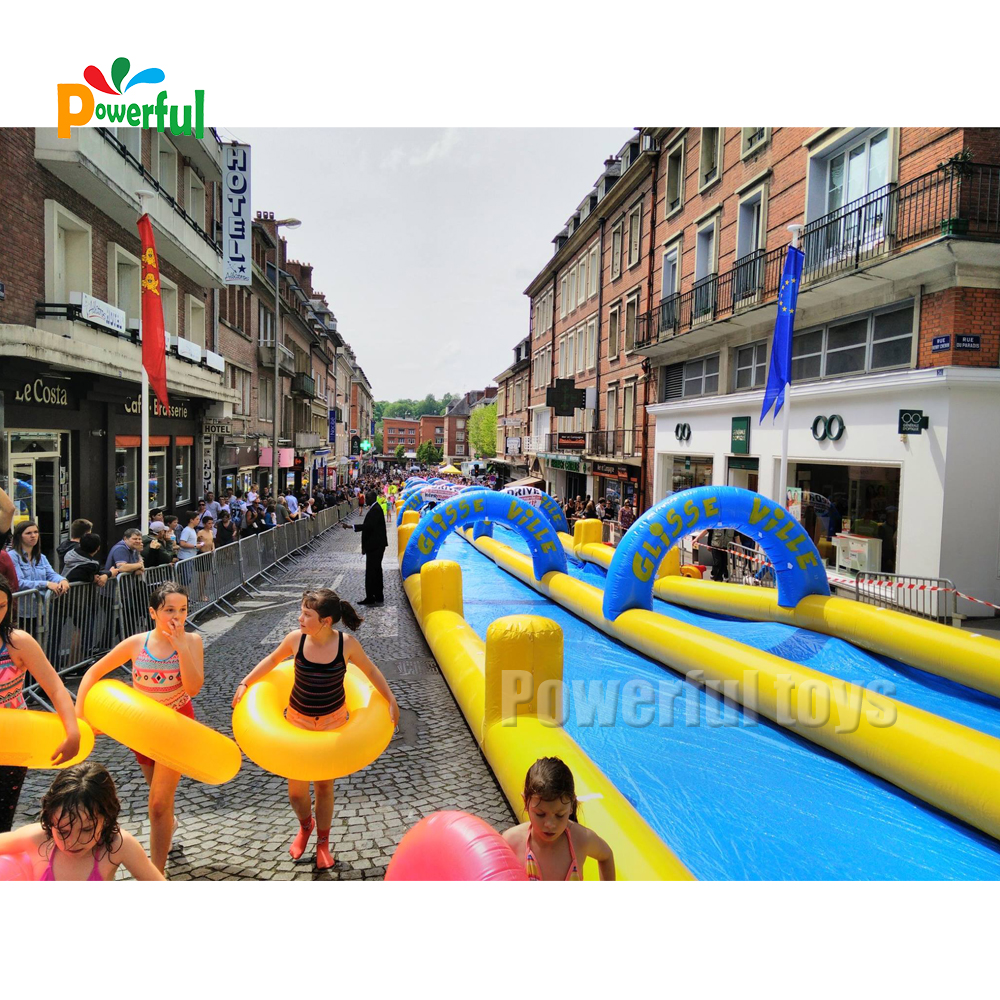 summer use inflatable slip n slide inflatable slide the city for kids and adults