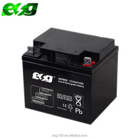 12V 38AH Lead aid battery use for solar street light system