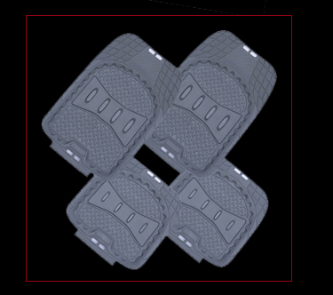 Waterproof Full Set Right Hand Drive 3D Car Floor Mats