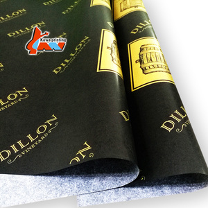 waterproof packaging paper for clothes packing custom printed logo gift cotton tissue paper