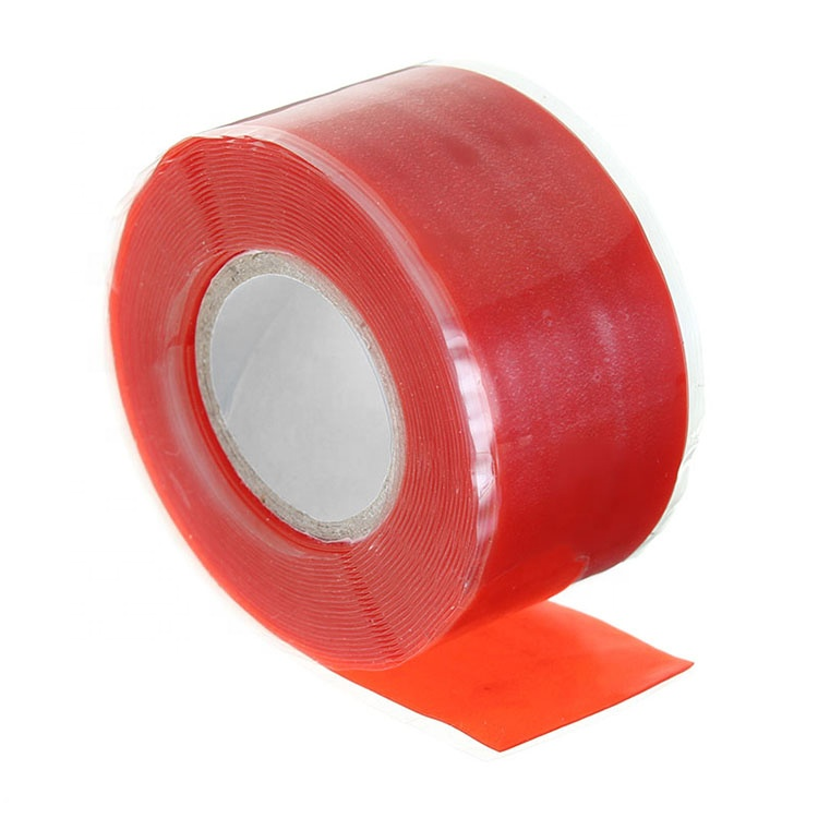 1 Roll Self-Fusing Seal Repair Emergency Rescue Silicone Rubber Tape Black