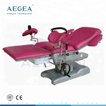 AG-C102D-1 Manual system female therapy treatment gynecological table used