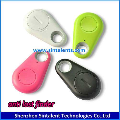 2017 Portable bluetooth tracker mini Key Finder anti lost through IOS Android App