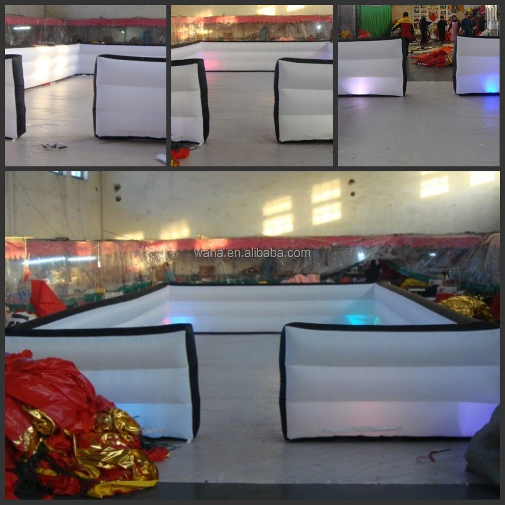 2014 Advertising inflatable walls with led light