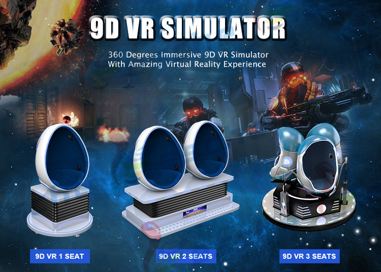 Motion virtual reality 9D EGG VR simulator cinema 9D VR machine