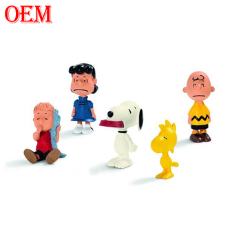 OEM customized Cartoon movie Peanut Snoopy Lucy Rerun action figures toy manufacturer