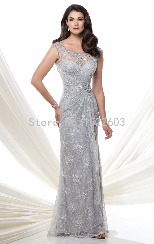 Bride of mother dresses silver rare photo