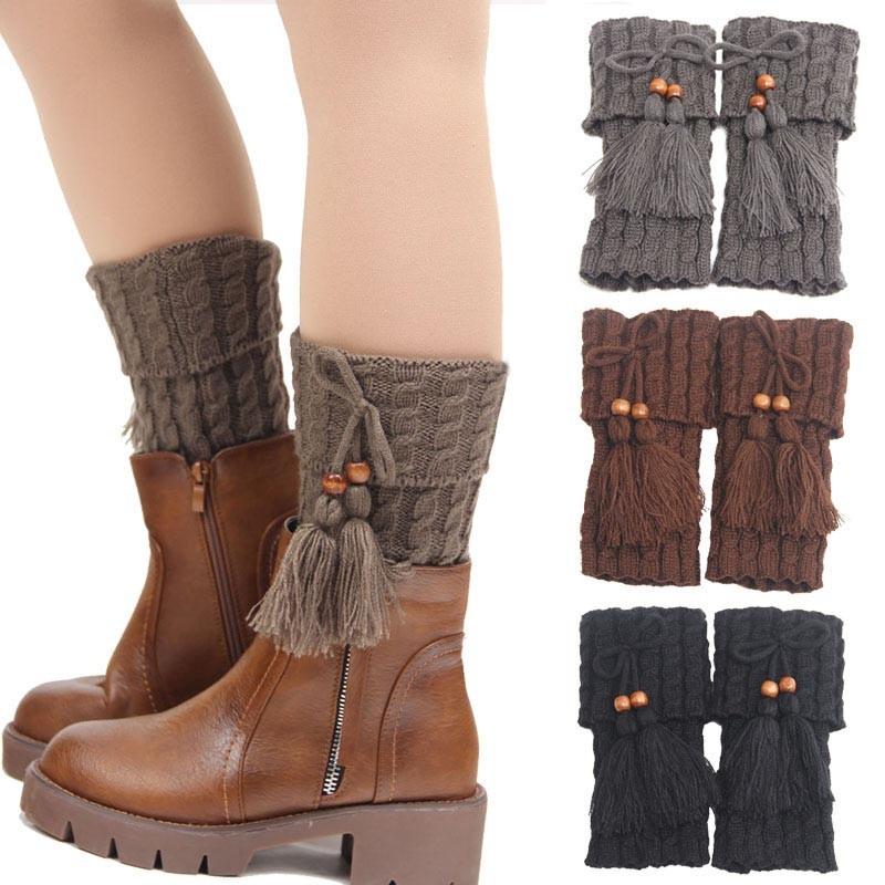 Compre Moda Perna Mais Quente Para As Mulheres Outono Inverno ... e67e7e47929df
