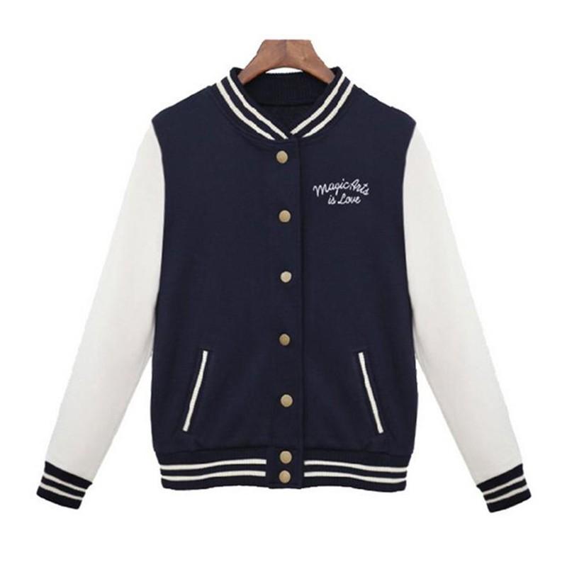 selección premium 69fac 244c7 Venta al por mayor chaqueta universitaria mujer-Compre ...