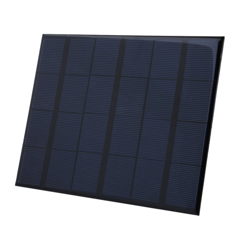 Solar Charger, Portable Solar Panel Power Charger 3.5w 6V for Phones, Mobile Power Bank