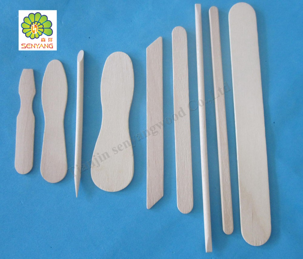different of beauty set birch wooden manicure nail care materials