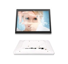 10 inch Android POE tablet with in wall Metal open frame