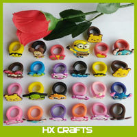 New design finger ring,children's finger ring with cartoon design