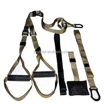 Gentil Door Gym Trainer Stretch Back Training Nylon Sling Belt