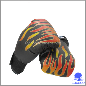 gym training 100% leather mexico boxing gloves