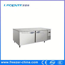 Stainless steel vertical hiller deep freezer big island freezer of Xuzhou Sanye