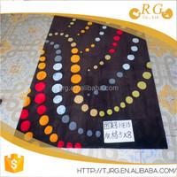 flower shaped area shaggy carpet prayer soft bamboo rug