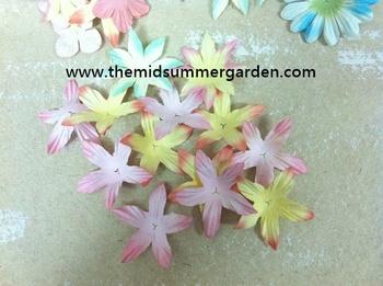 Petals Paper Flower For Scrapbookingembellishmentcard Makingdiy